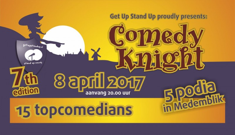 Comedy Knight - 8 april 2017