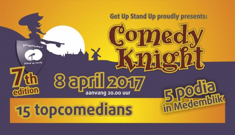 Comedy Knight - 8 april 2017